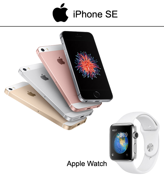 Apple iPhone SE - Apple Watch