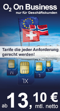 O2 On Business Tarife von Handydealer24.de